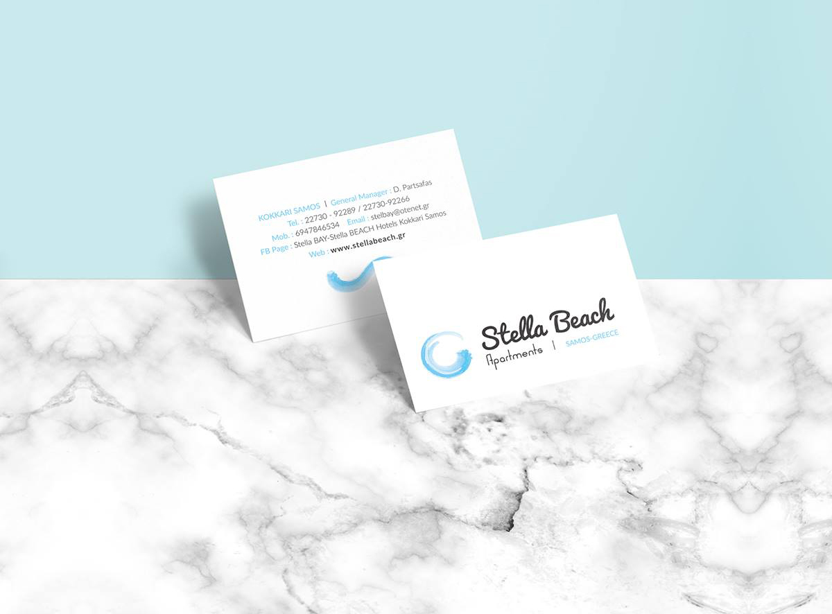 stella bay-business cards